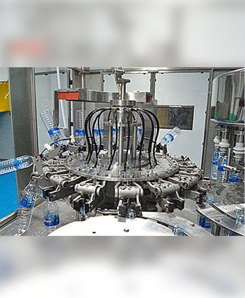 เครื่องล้างขวดอัตโนมัติระบบโรตารี่