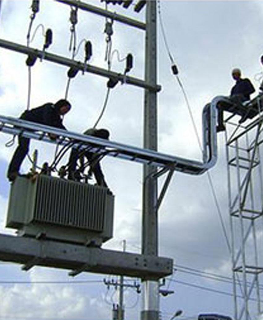 งานติดตั้งหม้อแปลงไฟฟ้า
