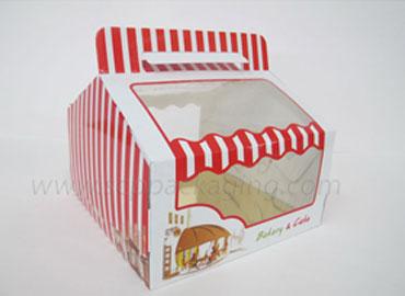 ออกแบบกล่องเค้กและกล่องเบเกอรี่