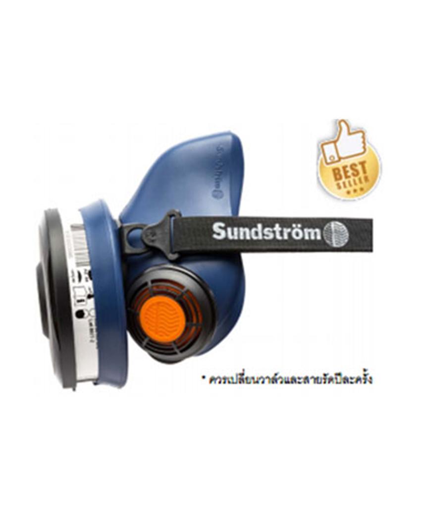 หน้ากากทางเดียว (HALF MASK)  รหัสสินค้า  : MKH01-2112 (#SR 100 S/M), MKH01-2012 (#SR 100 M/L)
