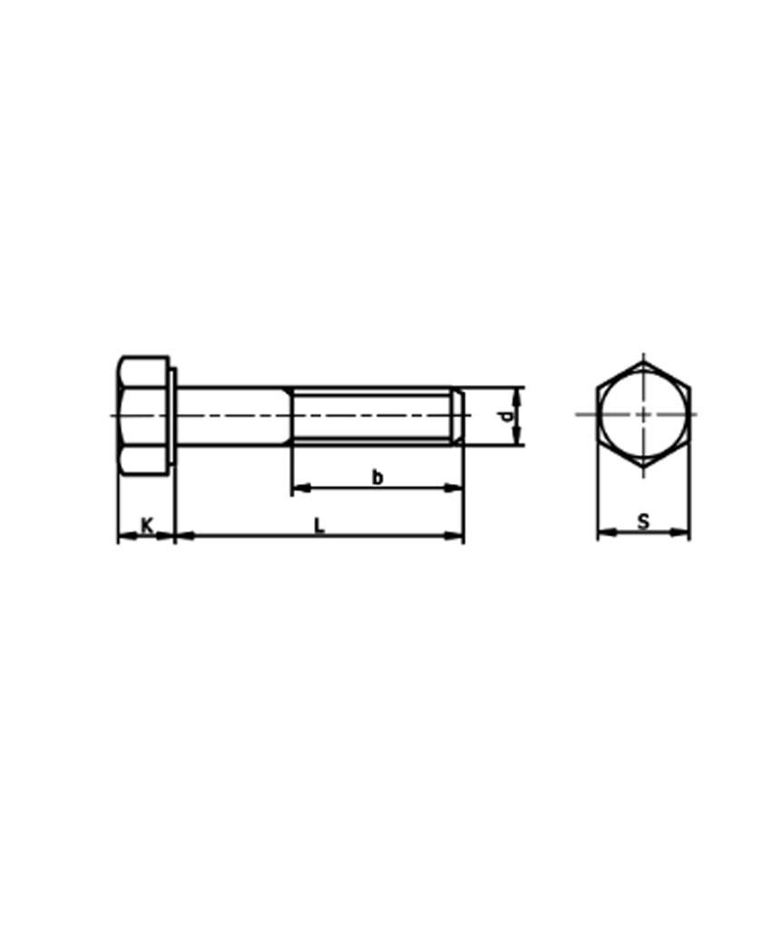 สกรู ASTM A193