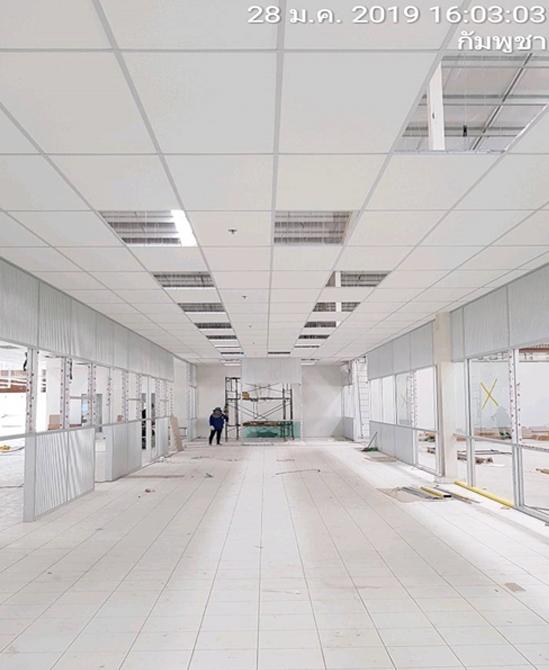 ติดตั้งแสงสว่างอาคารสำนักงาน