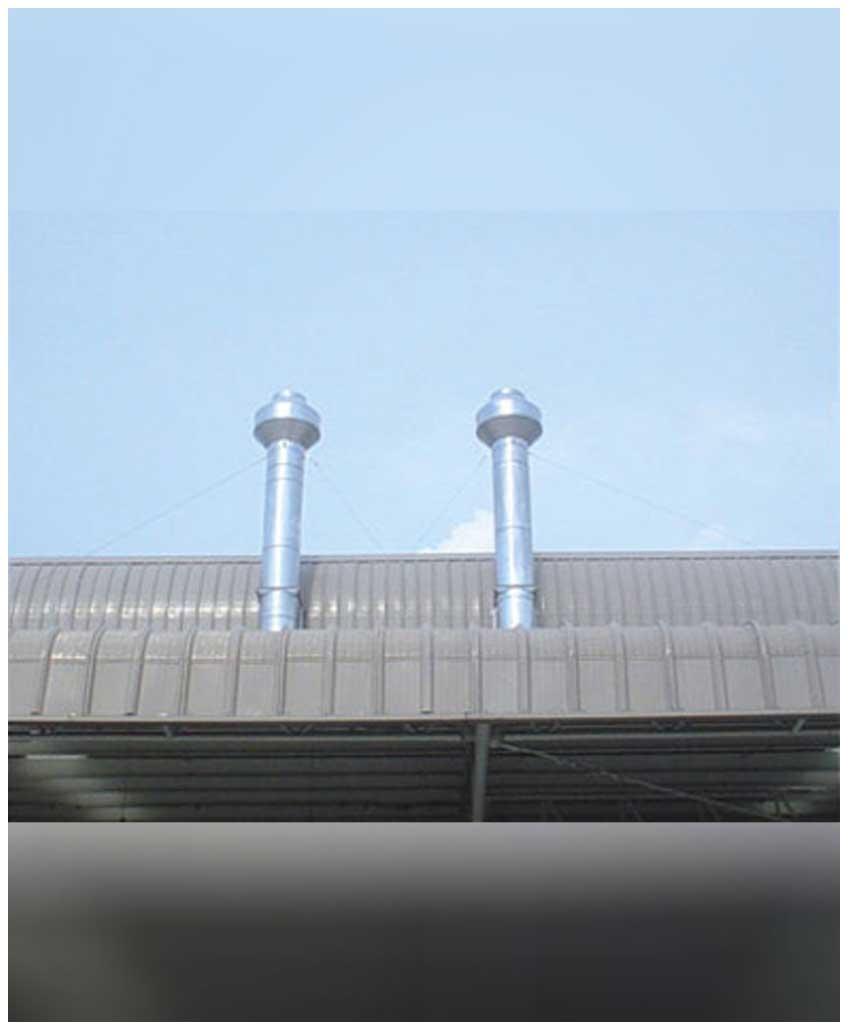 งานวางท่อระบายอากาศ