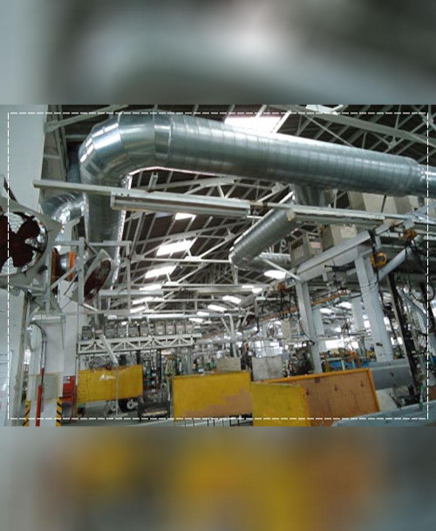 รับผลิตและติดตั้งระบบดูดควันและระบายอากาศ