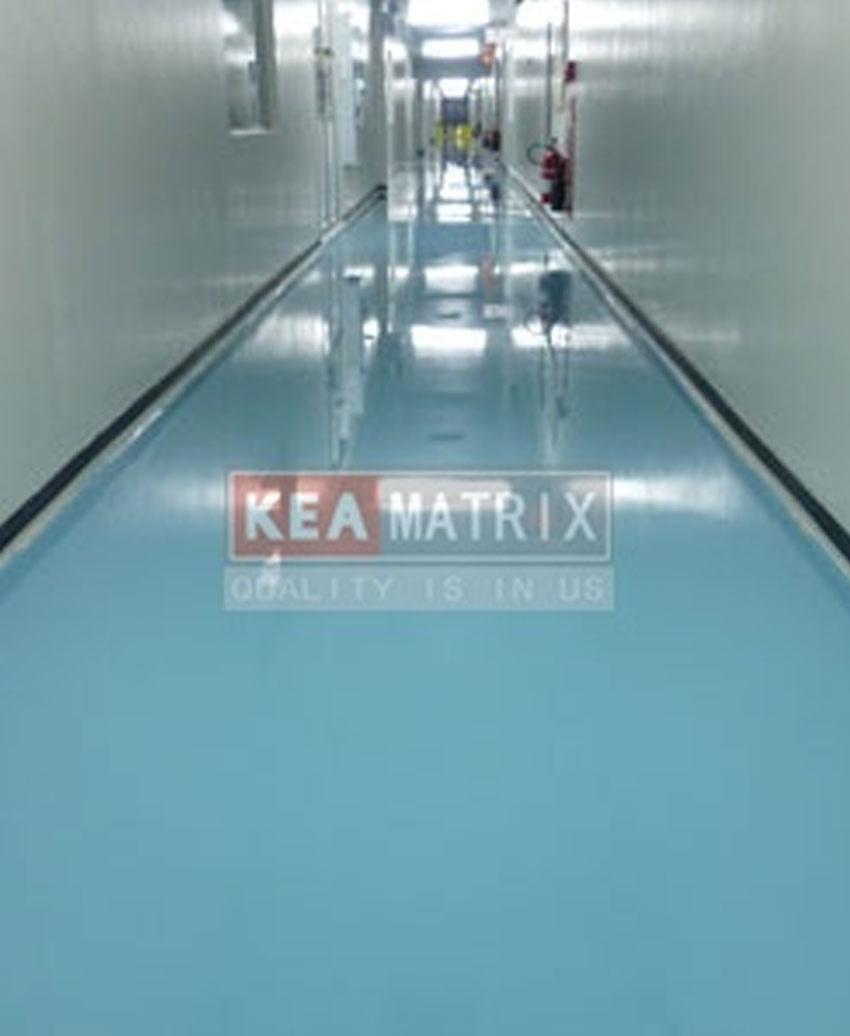 epoxy self-leveling for walkway